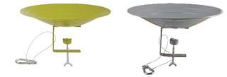 ESSCHERT DESIGN Koupel pro ptáčky 26 cm, balení obsahuje 2 kusy!