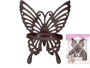 ESSCHERT DESIGN Držák na květináč motýl - dárkové balení