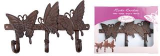 ESSCHERT DESIGN Háček motýl - dárkové balení