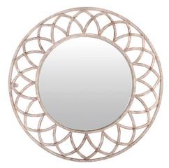 ESSCHERT DESIGN Zrcadlo s kovovými ornamenty
