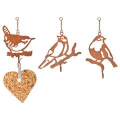 ESSCHERT DESIGN Držák na ptačí zob, balení obsahuje 3 kusy!
