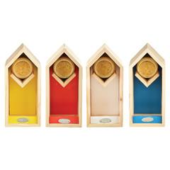 ESSCHERT DESIGN Krmítko vysoké, různé barvy, balení obsahuje 4 kusy!