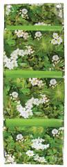ESSCHERT DESIGN Vak na květiny na zeď, 3 kapsy