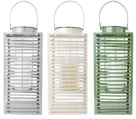 """ESSCHERT DESIGN Lucerna """"ESSCHERT´S GARDEN"""", zelená, 23 x 18 x 40 cm"""
