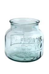 EGO DEKOR ECO Váza z recyklovaného skla/ECO Sklenička z recyklovaného skla,