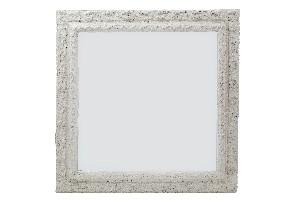 EGO DEKOR Zrcadlo OLD CHATEAU, bílá, 61x61x3 cm