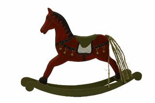 EGO DEKOR Koník houpací 33 cm