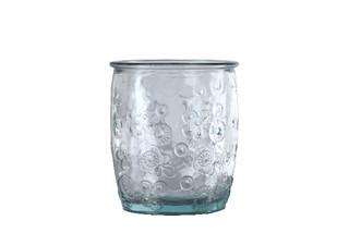 EGO DEKOR !RECYCLED GLASS! Sklenice z recyklovaného skla , 0,45 L
