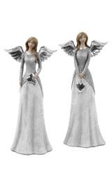 EGO DEKOR Anděl s šedým kabátkem, V, balení obsahuje 2 kusy!