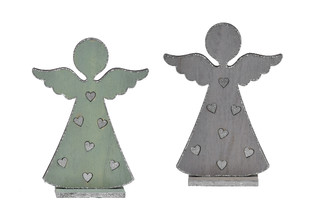 EGO DEKOR Dekorace anděl, 25 cm - balení obsahuje 2 kusy!