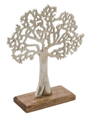 EGO DEKOR Strom na dřevěném podstavci, 23 cm, M