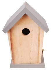 "ESSCHERT DESIGN Budka pro ptáčky ""BEST FOR BIRDS"", šedá"