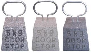 ESSCHERT DESIGN Dveřní zarážka kámen, balení obsahuje 3 kusy!, V