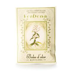 BOLES D´OLOR Vonné sáčky, papírové, 5,5 x 7,5 x 0,3 cm, Verbena
