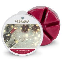 GOOSE CREEK Vosk Merlot s chutí teakového dřeva, 59g , do aroma lampy