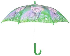 ESSCHERT DESIGN Deštník dětský, Mourovaté kotě