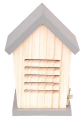 """ESSCHERT DESIGN Dřevěný domeček pro berušky """"ESSCHERT´S GARDEN"""" , velikost: 21 x 15 x 13 cm, barva: šedá"""