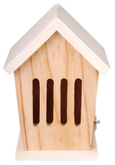 "ESSCHERT DESIGN Dřevěný domeček pro motýly ""ESSCHERT´S GARDEN"" , velikost: 21 x 15 x 13 cm, bílá střecha"