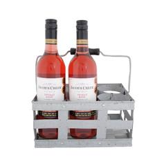 ESSCHERT DESIGN Přepravka na vína, zinek