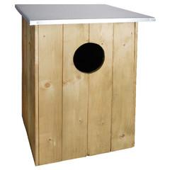 "ESSCHERT DESIGN Budka ""BEST FOR BIRDS"" pro puštíka obecného 60 cm"
