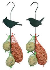 ESSCHERT DESIGN Krmení pro ptáčky na háčku, balení obsahuje 2 kusy! (DOPRODEJ)