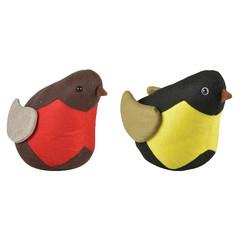 ESSCHERT DESIGN Zarážka na dveře, ptáček barevný, balení obsahuje 2 kusy!