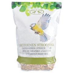 ESSCHERT DESIGN Kŕmenie pre vtáčiky, celoročné, 4 kg
