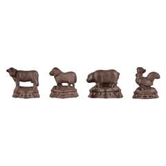 ESSCHERT DESIGN Zarážka na dveře zvířata, balení obsahuje 4 kusy!