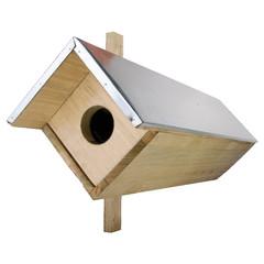 """ESSCHERT DESIGN Budka """"BEST FOR BIRDS"""" pro sýčka 81 cm"""