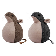 ESSCHERT DESIGN Dveřní zarážka myš, balení obsahuje 2 kusy!
