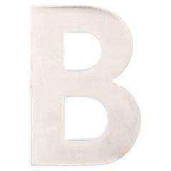 ESSCHERT DESIGN Domovní písmeno B - arial, břidlice