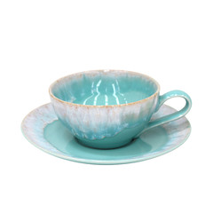 CASAFINA Hrnek na čaj s talířkem 0,2 L,