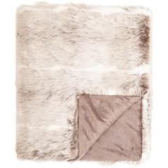 EGO DEKOR Deka Alaska, 130x170, šedo-hnědá/bílá