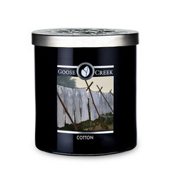 GOOSE CREEK !NOVINKA! Svíčka MEN'S COLLECTION 0,45 KG COTTON, aromatická v dóze KP
