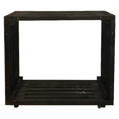 ESSCHERT DESIGN Stůl barový Garden, černá