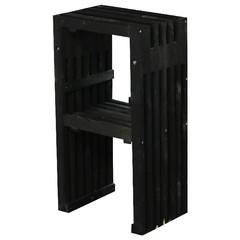 ESSCHERT DESIGN Stolička barová Garden, černá