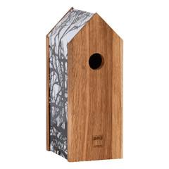 """ESSCHERT DESIGN Budka """"BEST FOR BIRDS"""" s kamerou"""