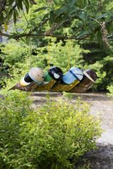 ESSCHERT DESIGN Krmítko závěsné Ptáček, balení obsahuje 4 kusy!