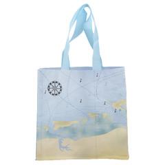 ESSCHERT DESIGN Taška nákupní MOŘSKÝ SVĚT, 24,5 x 10 x 24,5 cm