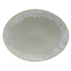 CASAFINA Tác oválný, 41x33cm, TAORMINA, šedá