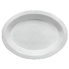 COSTA NOVA Tác 40cm, oválný, PLANO, bílá