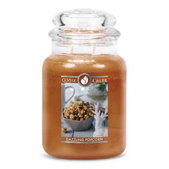 GOOSE CREEK Svíčka 0,68 KG Oslnivý Popcorn, aromatická v dóze SP (Dazzling Popcorn)