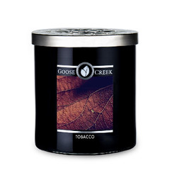 GOOSE CREEK !NOVINKA! Svíčka MEN'S COLLECTION 0,45 KG TOBACCO, aromatická v dóze KP