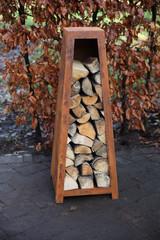 ESSCHERT DESIGN Zásobník na dřevo, rez