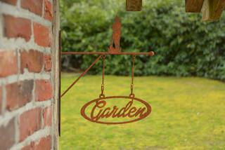 ESSCHERT DESIGN Cedule Garden, balení obsahuje 3 kusy!