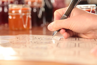 ESSCHERT DESIGN Cedulky popisovací na sklenice