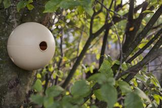 """ESSCHERT DESIGN Hnízdo """"BEST FOR BIRDS"""" pro ptáky koule, bambusové"""