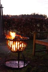 ESSCHERT DESIGN Krbové ohniště/koš Tulipán, 62 x 55 cm