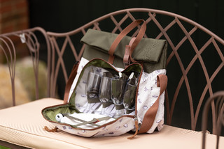 ESSCHERT DESIGN Taška na piknik pro 4 osoby