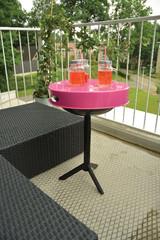 ESSCHERT DESIGN Gril / stolek, růžový